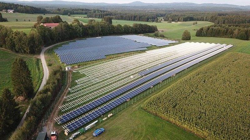 montaža sončne elektrarne